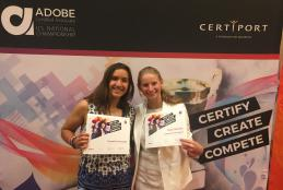 NHS Students Attend Adobe Certified Associate World Championship
