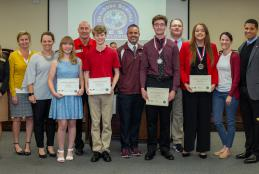 District Recognizes Sunshine State Scholars