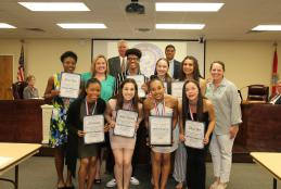 CHS Indianettes Recognized for Winning State Competition