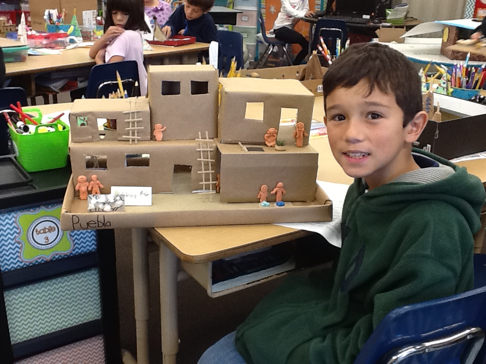 Native American Home Projects Kenwood Elementary School