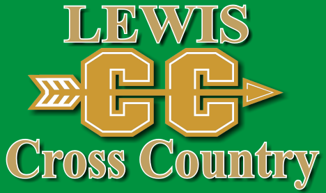 picture of Lewis cross country logo