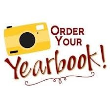 Clip art image to order a Yearbook