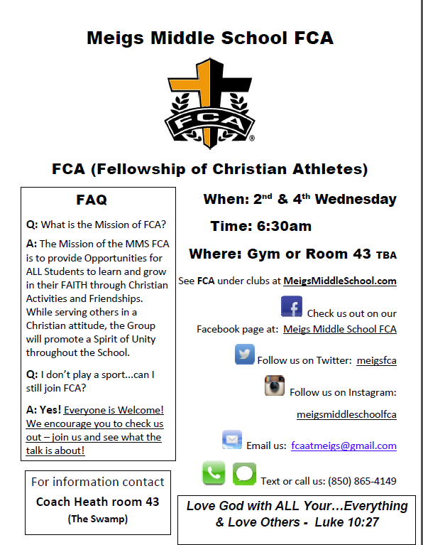 Picture of FCA flyer