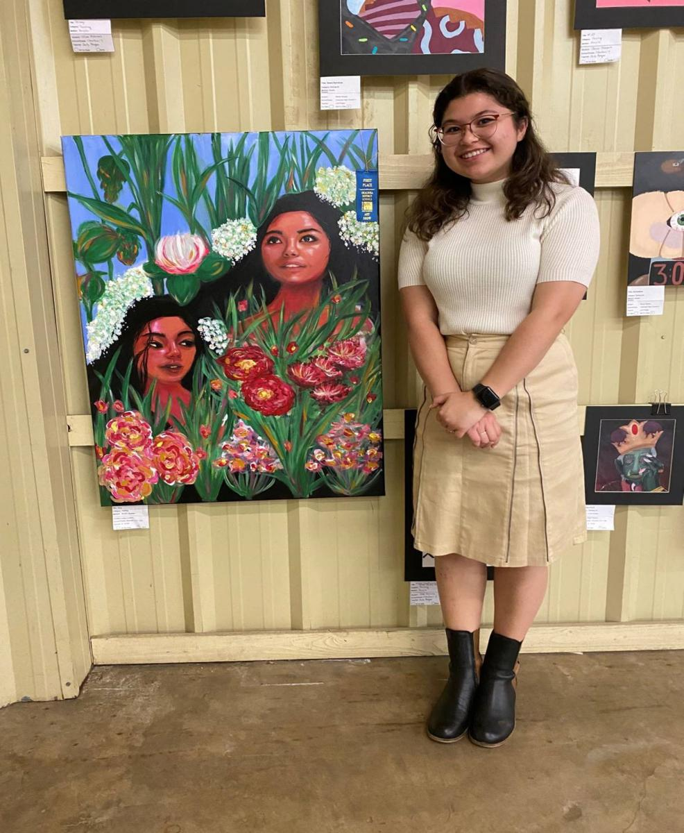 1st Place- Painting 2-D Acrylic-Realistic- Leilani Ledford
