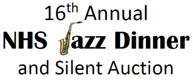 16th Annual NHS Jazz DInner and Silent Auction Graphic