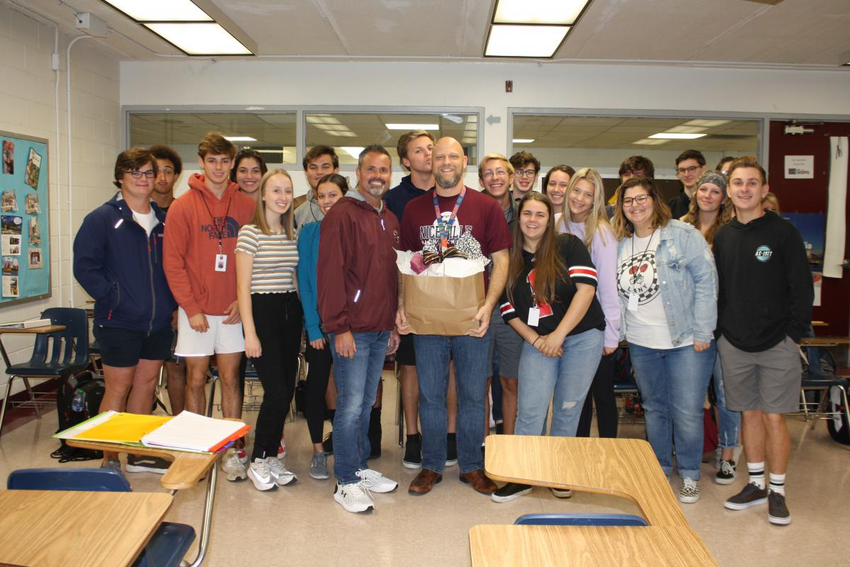 Justin Reichard Chosen NHS Teacher of the Year
