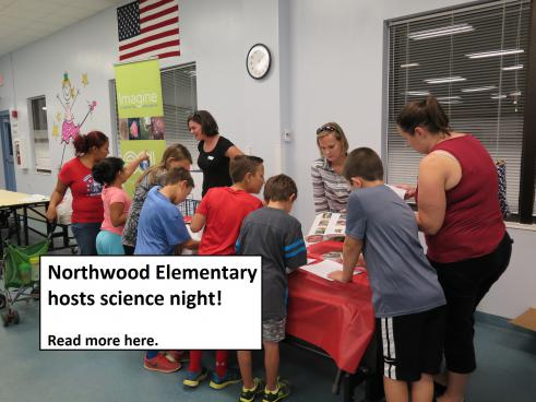 Northwood Elementary Hosts Science Night