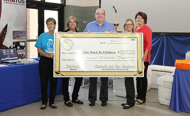 Picture of Panhandle Job Fair Donation