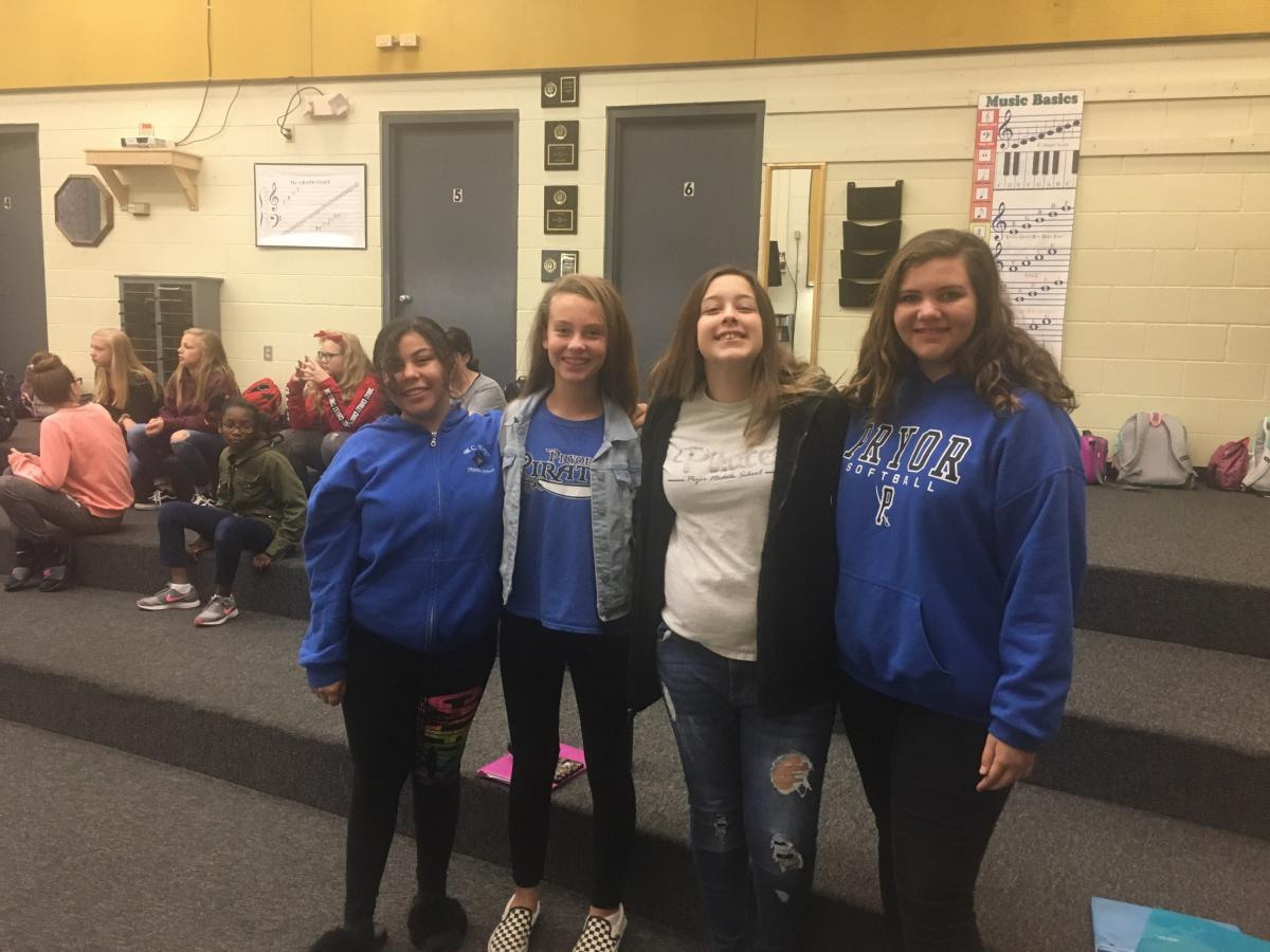 All County Chorus Students 2018
