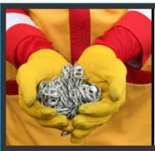 Picture of Ronald McDonald and Pop Tabs