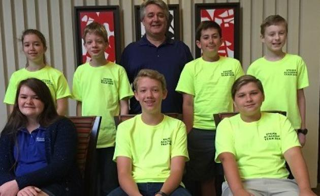 Picture of STEMM Academic Team at the National Competition