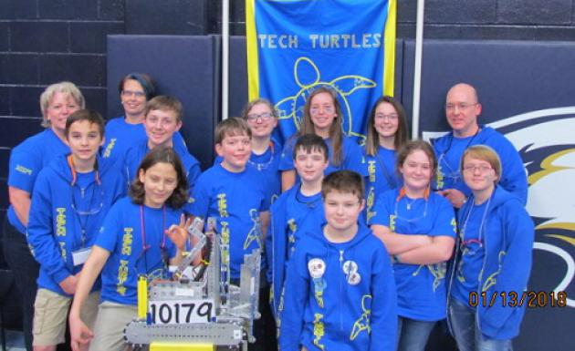 FTC team Tech Turtles heads to State competition
